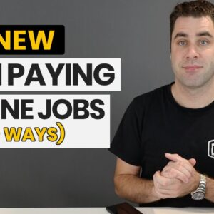 9 High Paying Online Jobs That No One Talks About (Best Work From Home Jobs 2020)