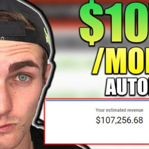Get Paid $107,000/Mth On Autopilot | How To Make Money On YouTube WITHOUT Making Videos.