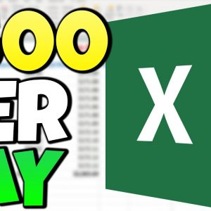 Get Paid $500 a Day Using Excel Sheets For FREE as a Beginner (Make Money Online 2021)