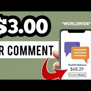 Get Paid $3.00 Per Comment (NO SELLING) | Make Money Online 2021