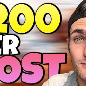 Earn $200 Per IG Post (NEW & WEIRD Trick To Make $$$ With Instagram)