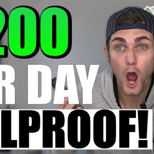 SET & FORGET $200 Per Day (Failproof Way To Make Money Online For FREE)