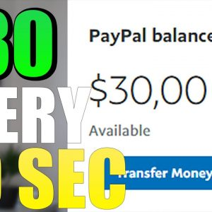 AUTOPILOT $30 Every 30 Minutes (Weird PayPal Money Trick)