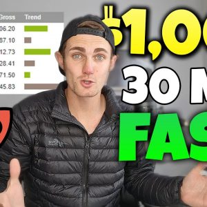 Use This 30 MINUTE Strategy and Earn Up Too $1,000 FAST (The Best Affiliate Marketing Tutorial)
