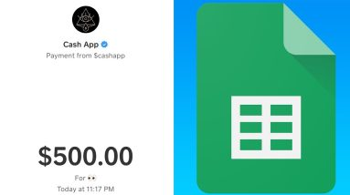 Get Paid $500 Per Day On Google Spreadsheets (Free Google Spreadsheet Money)