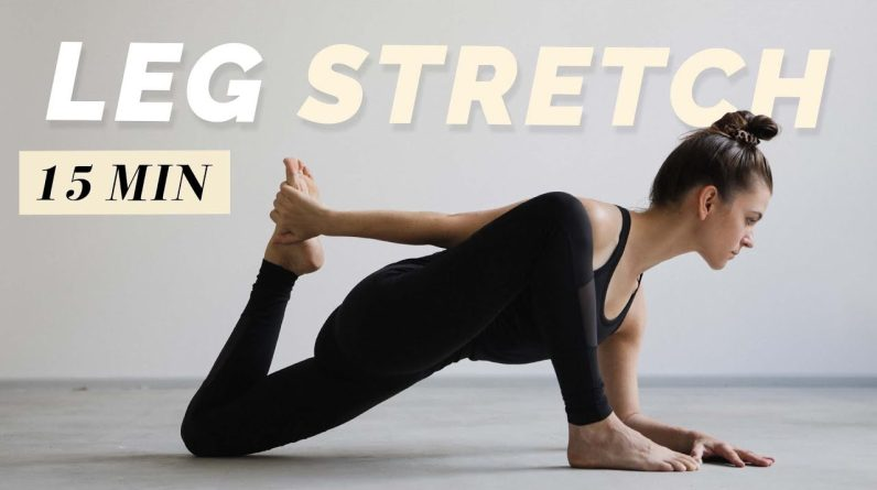 15 Min. Leg Stretch | Flexibility Routine for Hamstrings, Butt & Hips | Recover and Relax