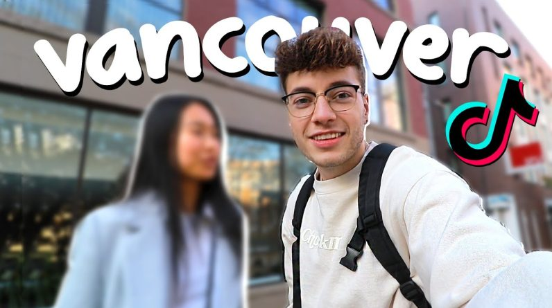 Trying Vancouver Tik Toks (featuring girlfriend)