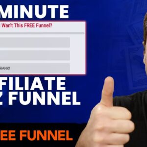 How To Build An Affiliate Marketing QUIZ Lead Magnet Funnel In 10 Minutes (Ste by Step)