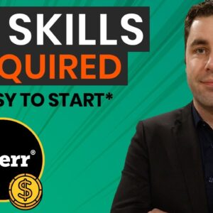 7 EASY Ways To Make Money On Fiverr That Require NO Skills In 2021 | Make Money Online!