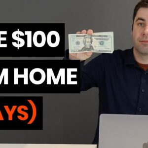 7 Ways To Make Extra Money From Home In 2020 ($100 or More Per Day)