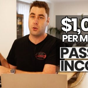 8 Passive Income Ideas To Start In 2020! (That Make $1000+ Per Month)