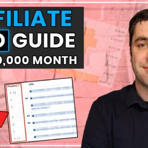 How To Rank Affiliate Marketing Websites On Google For FREE Traffic! (2021 Guide)
