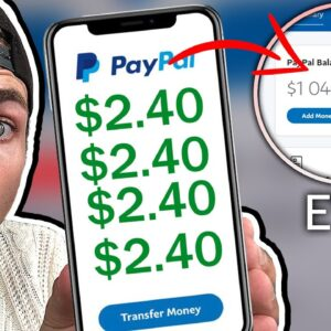 Earn $2.40 Every 60 Seconds! (WORKING PayPal Money Trick 2021!)