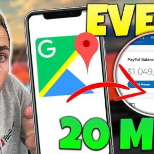 Earn $500/Day For FREE (WEIRD NEW Google Maps Trick)