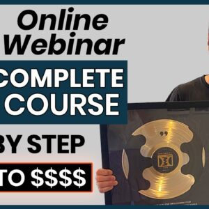 How To Make Money Online With Webinars In 2021 FREE Course (Step by Step For beginners)