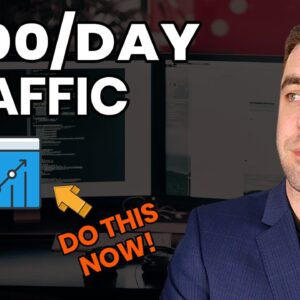 The Best $100 Per Day Free Affiliate Marking Traffic In 2021! (Do This Now)