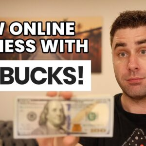 How I Started My NEW Online Business With Less Than $60!