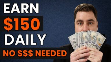 How To Make $150 A DAY & Make Money Online For FREE With NO Website!