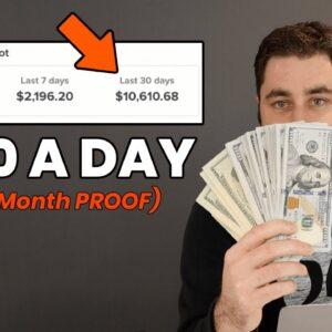 Best Way To Make Money Online As A Broke Beginner In 2020! ($10k/Month PROOF)