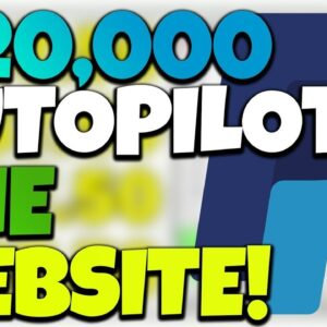 Earn $20,000+ On Autopilot Using One Website (FREE Passive Income 2021)