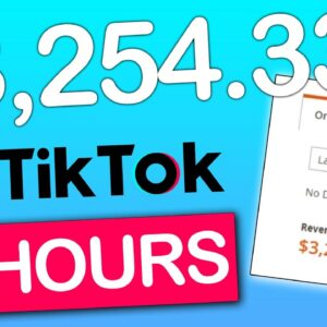 I Earned $3,254.33 On Tik Tok Without Having A Tik Tok Account (Proof)