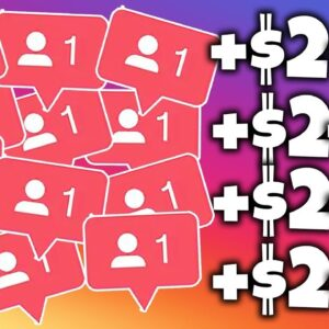 Get Paid $3.00+ To Follow People On Instagram (Get Paid To Follow People Real TRICK 2021!)