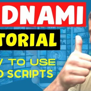 Vidnami Tutorial Demo - How to Work with Video Script in Vidnami Video Creation Software