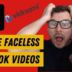 Vidnami Review Discount - How to Make Faceless TikTok Videos without Showing Your Face