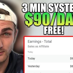NEW 3-Minute $90+ Per Day Autopilot Method | Affiliate Marketing Tutorial 2021
