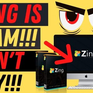 Zing Review - 😡 Billy Darr Scams Again 💰  Don't Buy Zing!😡