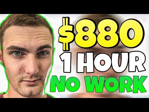 Earn $880.00 In 1 HOUR On Autopilot *NO WORK* (Make Money Online)