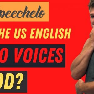 Speechelo Review Demo  Are The US Auto Voices in Speechelo Text to Speech Generation Software Good