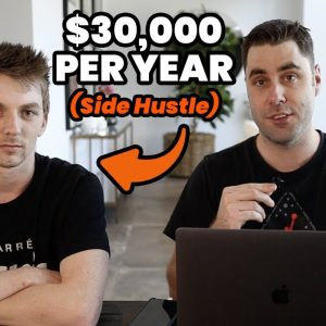 How He Makes $30,000 Per Year Online With This Side Hustle!