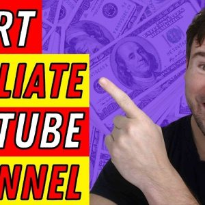 How To Create YouTube Channel And Earn Money with Affiliate Marketing