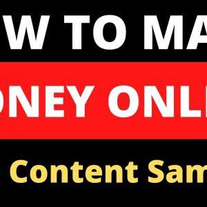 How To Make Money With Content Samurai Video Creator APP