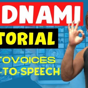 VIDNAMI AUTOVOICE DEMO TUTORIAL - The Best Text to Speech Voice-over Examples