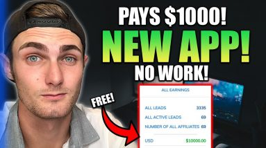 NEW App Pays $1,143.40 For FREE! (NO WORK) Make Money Online