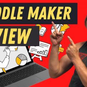 Paul Ponna Doodle Maker Review Demo Tutorial -⭐Win Free Doodle Maker