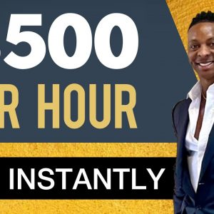 This Website Pays $500 Per Hour Instantly | Make Money Online 2021