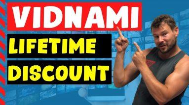 Vidnami Discount ⭐⭐⭐⭐ Lifetime Vidnami Video Creation Software Discount (Content Samurai Discount)