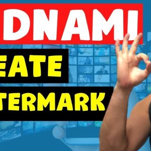 Vidnami Tutorial - How to Create and Add Watermark to Vidnami Videos
