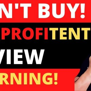 WP PROFITENT REVIEW ⚠️WARNING Dont Buy!⚠️It Does Not Work!