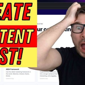 How to Create Content For Your Online Business - Jarvis Conversion AI Demo