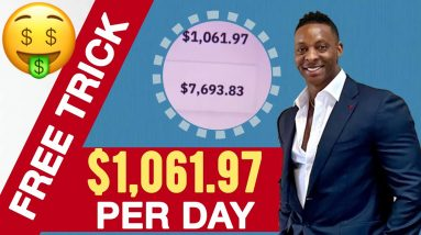 Make $1,061.97 Per Day With This FREE TRICK | Make Money Online 2021