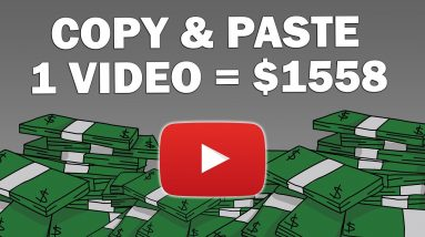 Copy & Paste Videos And Earn $1558 Per Video (Step by Step) Make Money Online