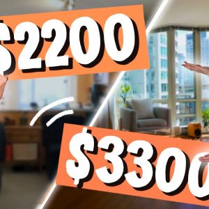 What $2200 vs $3300 Gets You in Vancouver | Apartment Tours
