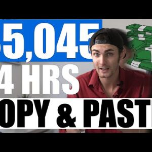 Copy & Paste To Earn $5,045.00 In 24 HOURS! (Make Money On Autopilot 2021)