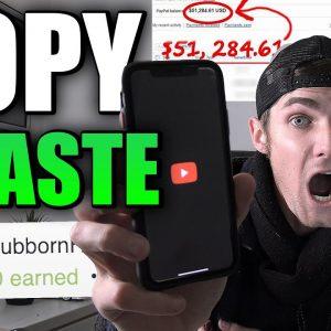Copy & Paste Videos and Earn Money (NOT YOUTUBE)   $10,827.70 Earned So Far