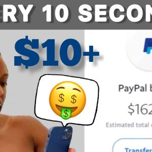 FREE Paypal Money $10+ Every 10 Seconds | Paypal Money | Make Money Online 2021