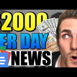 Earn $2000 In A Day FROM GOOGLE NEWS (Make Free Google Money 2021)